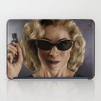 river song iPad Cases featuring River Song (Doctor Who) by San Fernandez