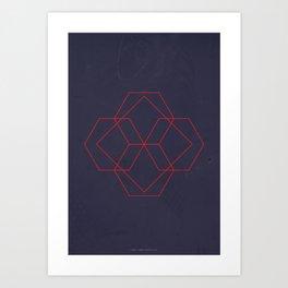 Geometric No.4 Art Print