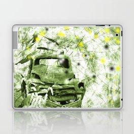 Dream wreck in grunge green kaleidoscope Laptop & iPad Skin