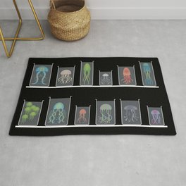 Jellyfishes Collection Rug