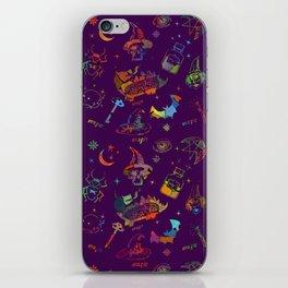Magic symbols iPhone Skin