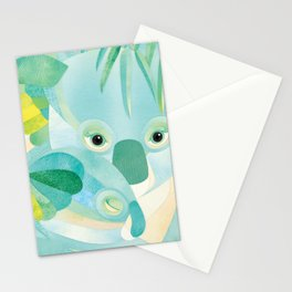 Shanti Sparrow: Maggie and Milo the Koalas Stationery Cards