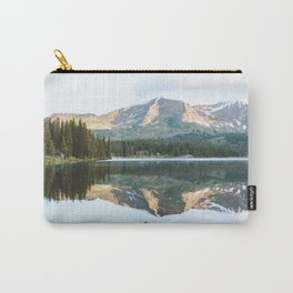 Sunrise Canoe at Lake Irwin Carry-All Pouch