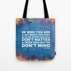Be Unapologetically You Tote Bag