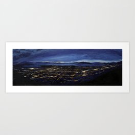 View of the Valley Art Print