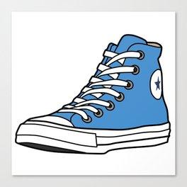 High-top Sneaker Canvas Print