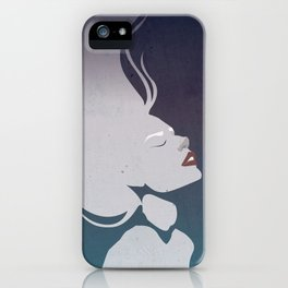 Floatinf Face iPhone Case
