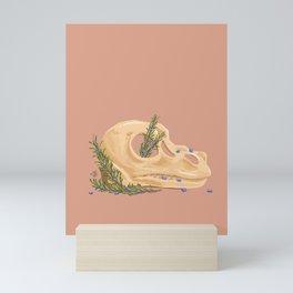 Tyrannosaurus and Rosemary Mini Art Print