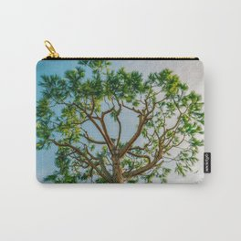 Maritime pine in French Riviera in a sunny winter day Carry-All Pouch