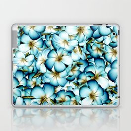 Plumeria Floral Pattern Laptop & iPad Skin