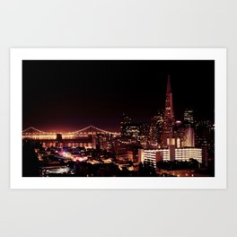 The View from Nob Hill Art Print