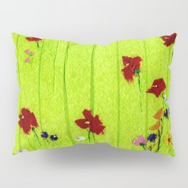 Wild flowers Pillow Sham