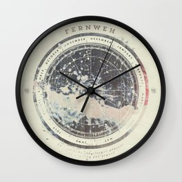 Fernweh Vol 6 Wall Clock