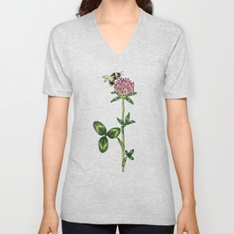 night work in the garden Unisex V-Neck
