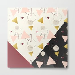 Triangles Mix #society6 #decor #buyart Metal Print