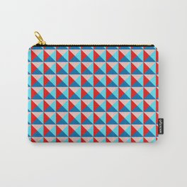 Abstract Triangle Pattern - Colorway #3 Carry-All Pouch