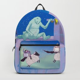Polar bear nightmare Backpack