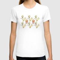 sticker T-shirts featuring sticker monster pattern 4 by freshinkstain
