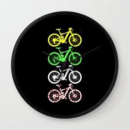 Bike Tour At France T Shirt Love Bicycle Wall Clock
