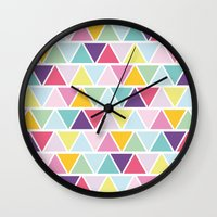 candy Wall Clocks featuring Candy by C Designz