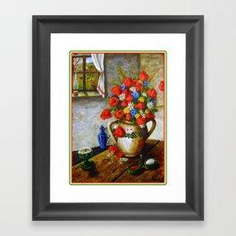 Hungarian Poppies Framed Art Print