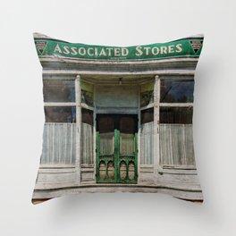 Associated Stores Throw Pillow