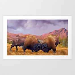 Stand Your Ground Art Print