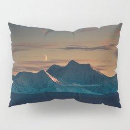Sunset over the Alaska Range, Delta Junction Pillow Sham