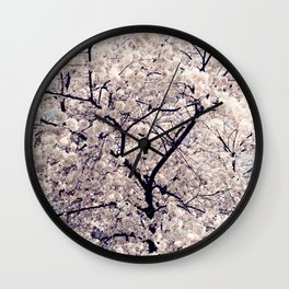 Cherry Blossom * Wall Clock