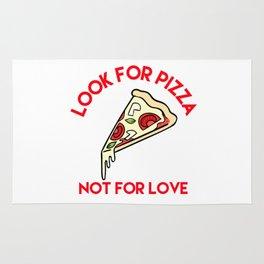 Pizza > Love Rug
