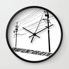 Electricity1 Wall Clock