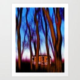 Little sweet home 1 Art Print