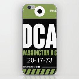 DCA Washington Luggage Tag 2 iPhone Skin