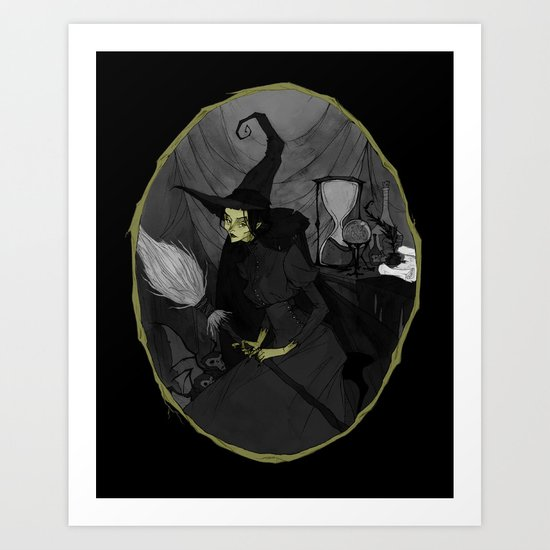 The Wicked Witch of the West Art Print