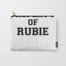 Property of RUBIE Carry-All Pouch