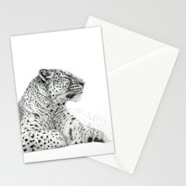 Persian Leopard G2011-025 Stationery Cards