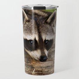 Adorable Raccoon Photo Travel Mug