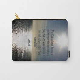John 3:16 Carry-All Pouch
