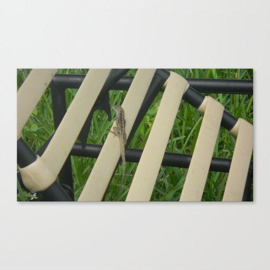 sunbather Canvas Print