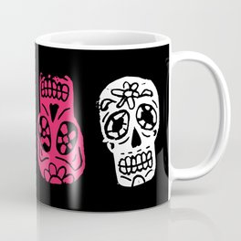 Inked Sugar Skulls Coffee Mug