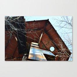 Camp Patrick Henry - NIKE Radar Dome Tower Canvas Print
