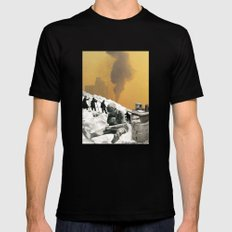 An Industrial Vice Black MEDIUM Mens Fitted Tee
