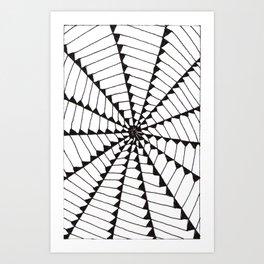 tri-web Art Print