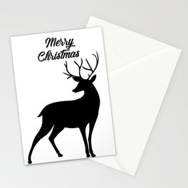 Merry Christmas - Reindeer Stationery Cards