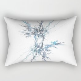 Crystaline Static Rectangular Pillow
