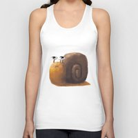 snail Tank Tops featuring Snail by Isableh