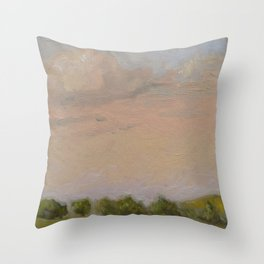Sunset Painting Throw Pillow