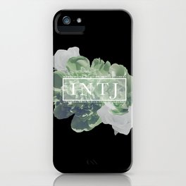 Yes. I am an INTJ (Green) iPhone Case