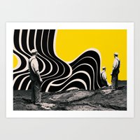geology Art Prints featuring , and they can occur any number of times. by Hans Eiskonen