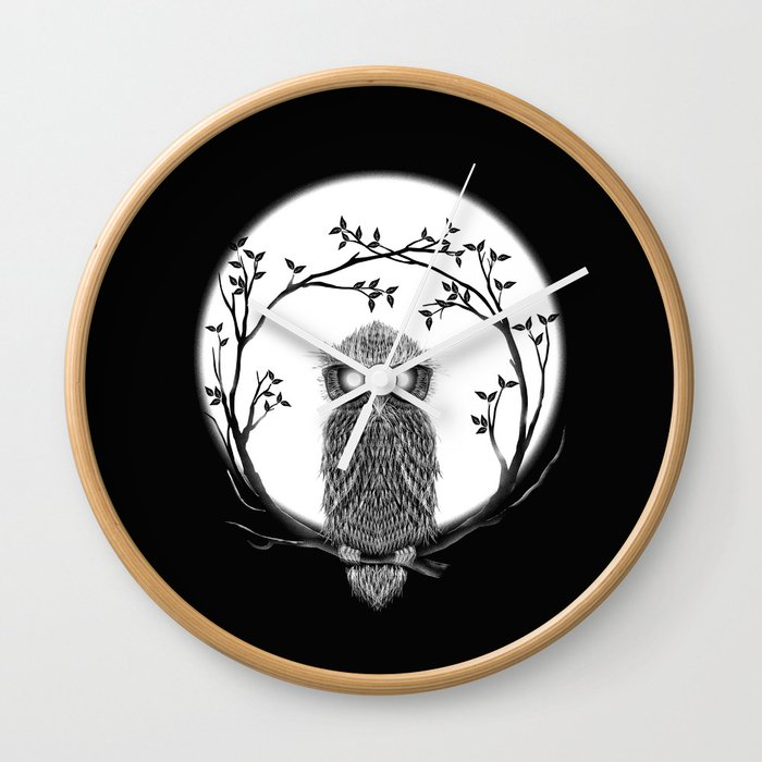 SPECTAC-OWL Wall Clock